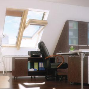 Энергосберегающие мансардные окна